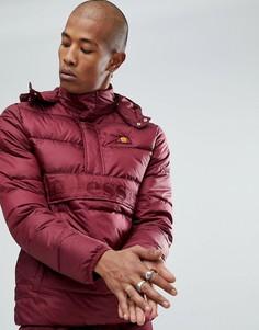 Красная дутая куртка Ellesse - Красный