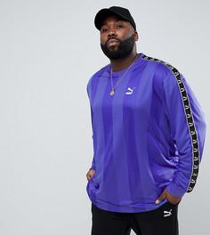 Фиолетовый футбольный лонгслив Puma PLUS эксклюзивно для ASOS - Фиолетовый