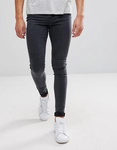Супероблегающие серые джинсы Dr Denim Leroy - Серый