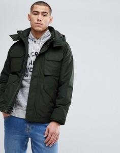 Зеленая куртка Abercrombie & Fitch - Зеленый
