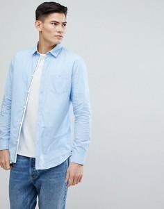 Рубашка с длинными рукавами Selected Homme - Синий