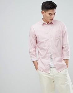 Рубашка с длинными рукавами Selected Homme - Розовый