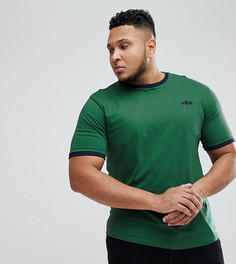 Зеленая футболка с маленьким логотипом Fila Vintage PLUS - Зеленый