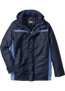 Всепогодная куртка (темно-синий/нежно-голубой) Bonprix