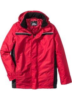Всепогодная куртка (красный/черный) Bonprix