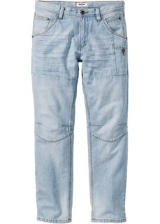 Джинсы Regular Fit Straight, cредний рост (N) (нежно-голубой) Bonprix