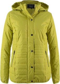 Стеганая куртка на ватной подкладке (фисташковый) Bonprix