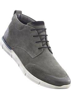 Ботинки на шнурках (антрацитовый) Bonprix