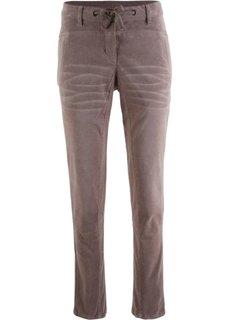 Вельветовые брюки (светло-коричневый) Bonprix