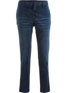 Вельветовые брюки (темно-синий) Bonprix