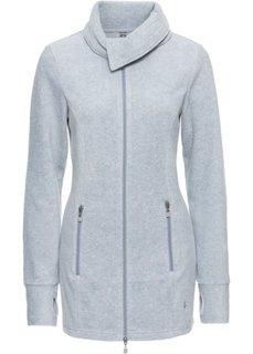 Куртка из флиса (светло-серый меланж) Bonprix