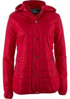 Стеганая куртка на ватной подкладке (красный) Bonprix