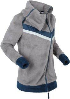Куртка из уютного флиса (серый) Bonprix
