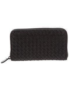 плетёный кошелёк из мягкой кожи Bottega Veneta