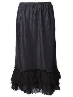 длинная гофрированная юбка Dosa