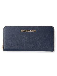 дорожный кошелёк Jet Set из кожи аллигатора Michael Michael Kors
