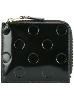 бумажник с тиснением в горошек Comme Des Garçons Wallet