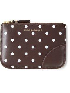 кошелёк в горошек Comme Des Garçons Wallet