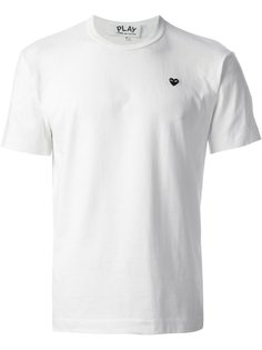 футболка с маленьким сердцем Comme Des Garçons Play