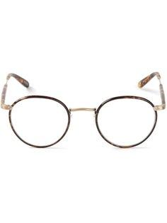 очки в черепаховой оправе Wilson Garrett Leight