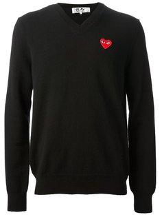 свитер с вышивкой логотипа Comme Des Garçons Play