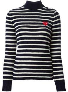 свитер в полоску  Comme Des Garçons Play
