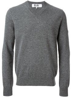 свитер с V-вырезом Comme Des Garçons Play