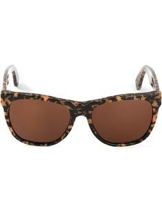 солнечные очки с эффектом черепашьего панциря Retrosuperfuture