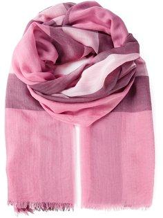 шарф с принтом в клетку Burberry