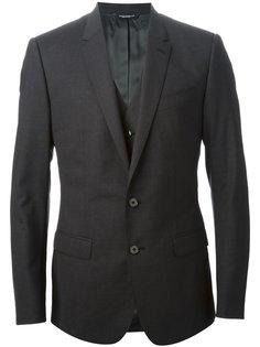 классический костюм с жилеткой Dolce & Gabbana