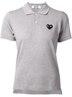 футболка-поло с принтом логотипа Comme Des Garçons Play