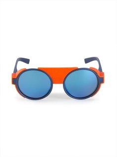контрастные солнцезащитные очки  Mykita