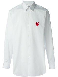 рубашка с нашитым логотипом Comme Des Garçons Play