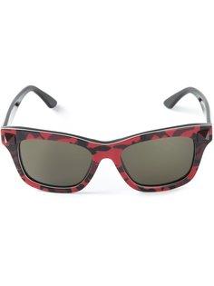 камуфляжные солнцезащитные очки Rockstud Valentino Eyewear