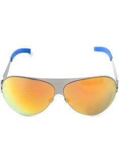 зеркальные солнцезащитные очки Mykita