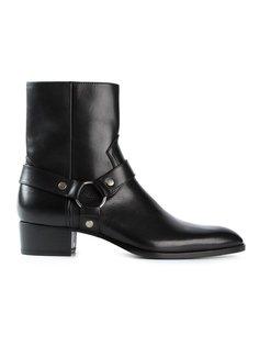 ботинки Wyatt по щиколотку Saint Laurent