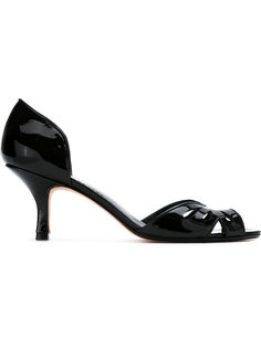туфли на низком каблуке Sarah Chofakian