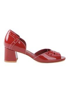 chunky heel sandals Sarah Chofakian