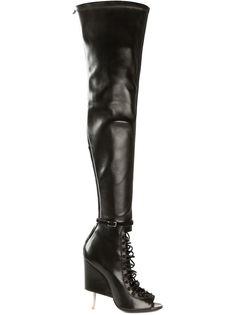 ботфорты на шнуровке Givenchy