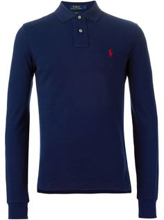футболка-поло с длинными рукавами   Polo Ralph Lauren