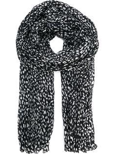 шарф с пятнистым принтом Saint Laurent
