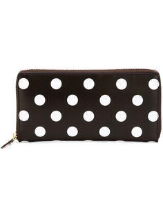 кошелек в горошек Polka Dots Printed Comme Des Garçons Wallet