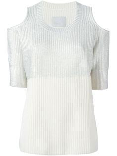 свитер с вырезами на плеьчах Dias  Zoe Jordan