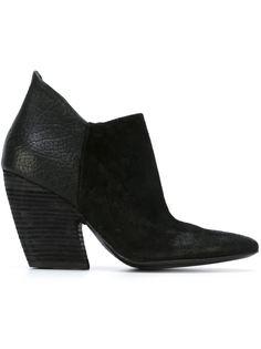 ботинки на массивном каблуке  Marsèll