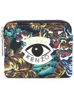 кошелек для монет с логотипом Kenzo