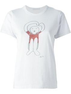 футболка с принтом логотипа   Société Anonyme