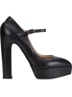 туфли на массивном каблуке Vera Wang