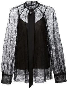 кружевная блузка  Vera Wang