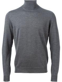 свитер с высоким горлом Drumohr
