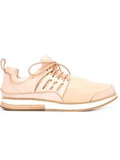 кроссовки с панельным дизайном и шнуровкой Hender Scheme